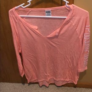 Vs PINK 3/4 Sleeves
